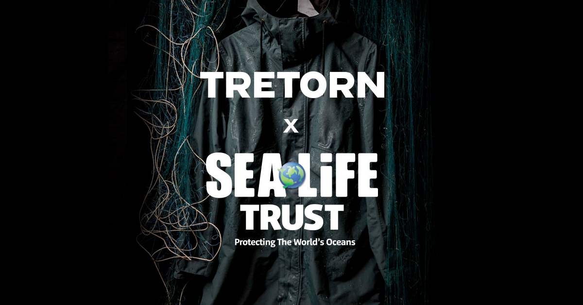 Swedish outdoor heritage brand Tretorn are proud to announce the launch of the Tretorn X SEA LIFE Trust collection as part of the SS20 Eco Essentials offering.